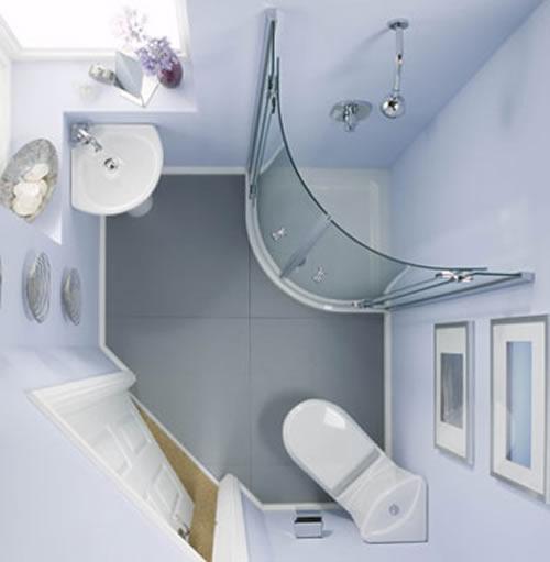 Дизайн интерьера маленькой ванной комнаты в хрущевке - фотопримеры.